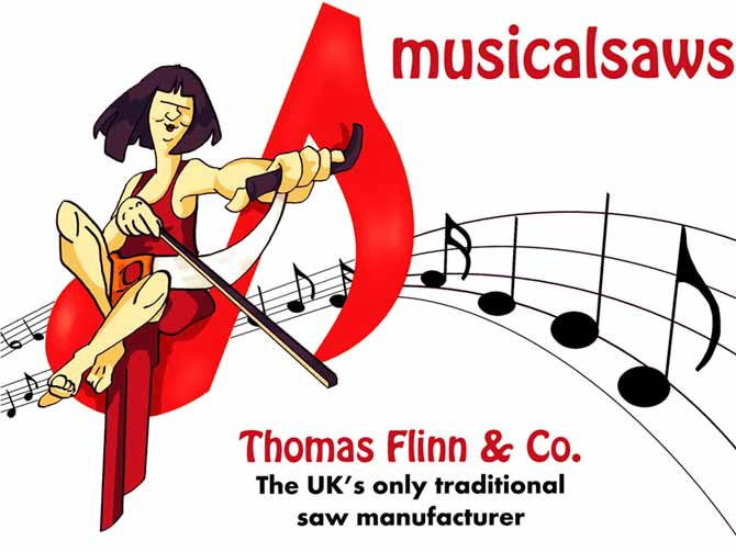 MusicalSaws.co.uk - from Thomas Flinn and Co, the UKs only traditional saw manufacturer